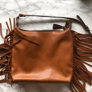 Handbags - Fringe crossbody bag